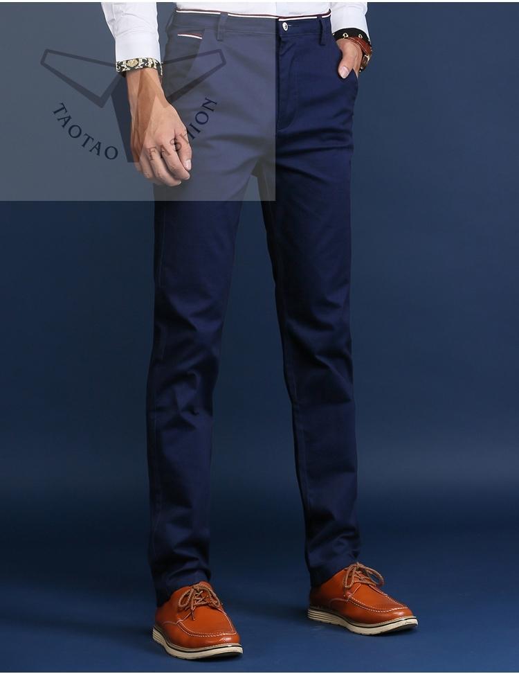 2018 New Fashion Premium Brand Work Pants Men S Clothes Cotton