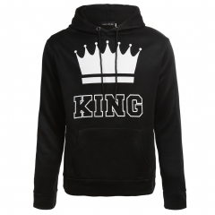 New lovers' Queen King crown printed caps Men King m