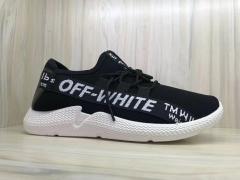 Men shoes Taotao fashion Factory direct sale 2018 men's sports shoes black 39