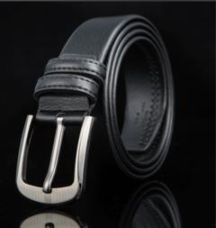 Taotao Fashion-Men Belt Fashion Leisure black 125