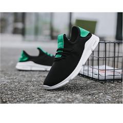 Men shoes Taotao fashion-Men's Shoes, Air Woven Shoes, Men's Sports Shoes black 39