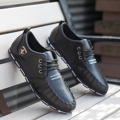 Men shoes Taotao fashion-Fashion Shoes Footwear Overhangs Men's Bean Shoes Fashion Leisure Shoes black 39