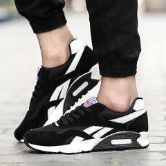 Men shoes Taotao fashion-Men's Sports Shoes Running Shoes Skate Shoes Air-permeable Cushion Shoes black 39