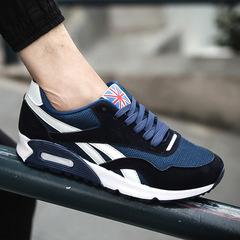 Taotao fashion-Men's Sports Shoes Running Shoes Skate Shoes Air-permeable Cushion Shoes blue 42