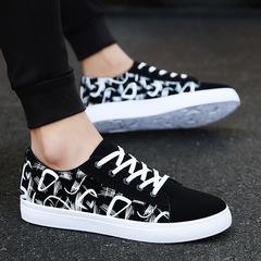 Taotao fashion-Men's Casual Shoes  Sports Outdoor Running Shoes black 39
