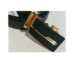 Taotao fashion-Men's Belt New Men's Sanded Belt Golden 130cm