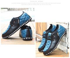 Men shoes Taotao fashion-Men's large size casual shoes blue 39