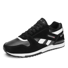 Men's Sports Shoes Leisure Shoes Running Shoes Fashion Sneakers black 39