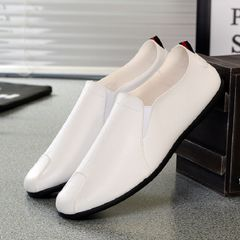 TAOTAO FASHION Men Shoes 2020 Fashion Mens Casual Shoes Driving Shoes Men Party Shoes FBK Man Shoes white 43