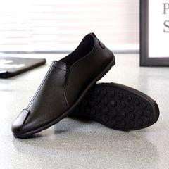 TAOTAO FASHION Men Shoes 2020 Fashion Mens Casual Shoes Driving Shoes Men Party Shoes FBK Man Shoes black 43