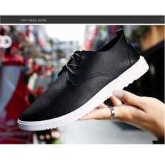 Taotao fashion Men Shoes Casual Fashion Peas Shoes Man Shoes Man FBK Shoe TOP black 41