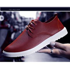 Taotao fashion Men Shoes Casual Fashion Peas Shoes Man Shoes Man FBK Shoe TOP light brown 40