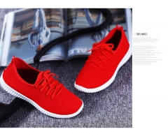 c79bcc450b36 JH 2018 women shoes fashion casual shoes breathable mesh shoes sneakers red  36