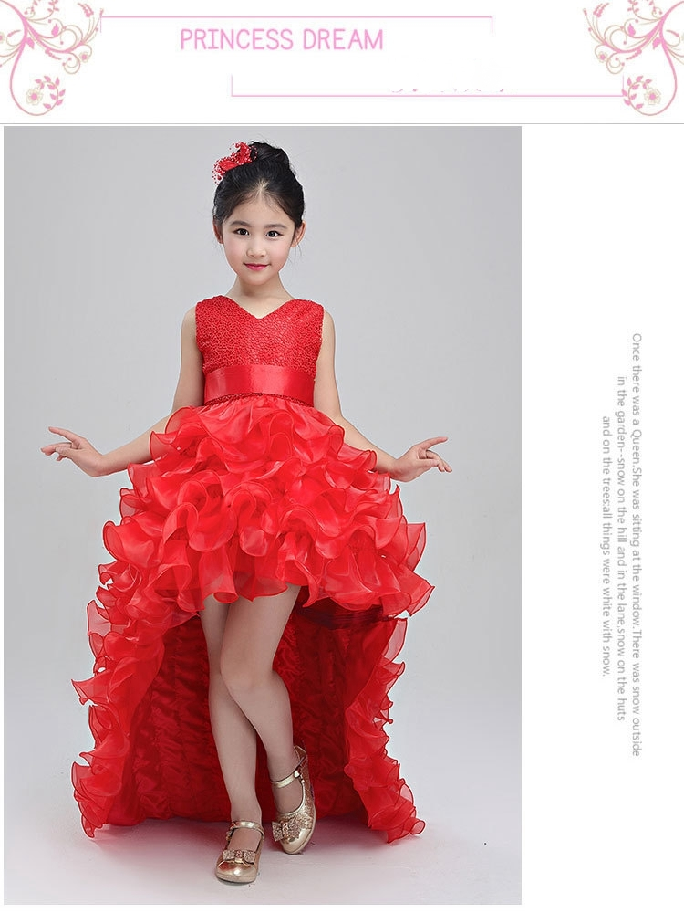 bc330ba527b68 Suitable occasion: fluffy toddler girl clothes/ little girl evening dress/graduation  gowns children/newborn babe vestidos/vestidos princesa infantil/toddler ...