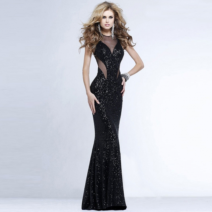 Sleeveless Evening Dresses