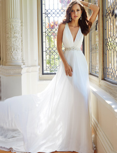 Hot Selling Lace Wedding Dresses Fashion Bride Dresses Lace Bridal Gown Party Gown 2 style 1