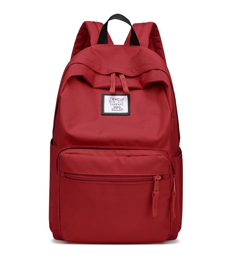 42b3379c2a Male Female Daily Canvas Backpacks Large Capacity Computer Bag ...