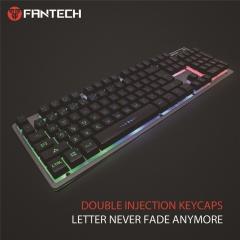 RGB Gaming Keyboard 104-Key Wired Colorful Keyboard black 460(W)*173(L)*52(H) mm