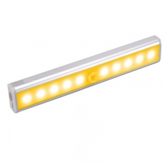 New induction lamp led wardrobe lamp stair induction lamp led induction lamp creative night light Warm White 19cm 1.8W