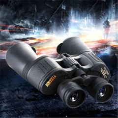 Close-range 10-120X50 high-definition binoculars night vision concert tourism outdoor glasses black
