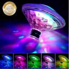 Children's bath light, water drift light, colorful bathtub light, pool light, creative LED Transparent 7 colors