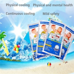 Cooling stickers fever cooling stickers physical cooling cold stickers refreshing One piece