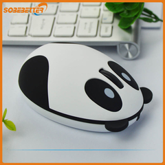 Silent Mouse 2.4G Wireless Charging Panda Mouse Large Battery Capacity White 95mm * 66mm * 40mm