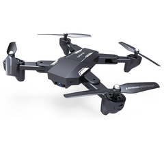 Ultra-stable High Positioning Aerial Folding Drone Optical Flow Positioning WIFI Four-axis Aircraft Black 2.0MP Camera