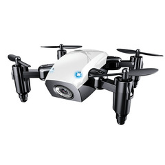 Four-axis Aircraft Fixed Height 0.3MP WIFI Real-time Mobile Phone Aerial Toy Drone White 0.3MP Camera