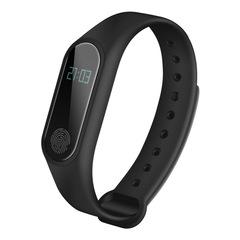 Smart Bracelet Health Heart Rate Waterproof Explosion Sports Bluetooth Black 0.42 inch