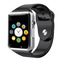 Smart Watch Adult Card Smart Watch Card Call Smart Reminder Bluetooth Fashion Watch Black 1.2 inches