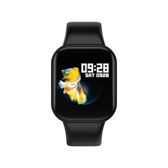 Bluetooth Sports Smart Bracelet Waterproof Fitness Tracker - Black black 1.3