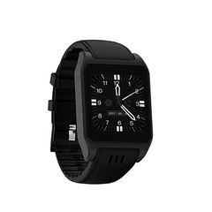 3G Android Smart Watch WIFI Bidirectional Positioning Flash Application Download black 1.5