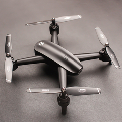 Drone aviation double camera gesture photo portrait quadruple airplane black hd