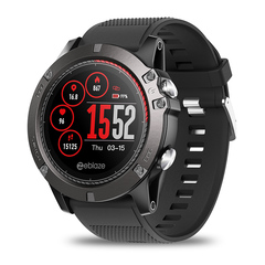 Color Screen Zeblaze Vibe 3 ECG Smart Watch Support Waterproof And Heart Rate Monitoring red 1.22