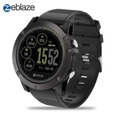 Zeblaze Vibe3 HR Android IOS Heart Rate Monitoring 5ATM Waterproof Smart Bracelet Watch black 1.22