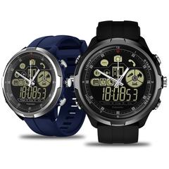 Waterproof 1.24-inch Full View Smart Watch grey 1.24