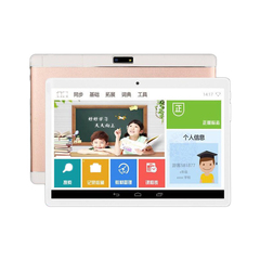HD IPS Screen 10 Inch Tablet Computer with 3G Gall Bluetooth WIFI Rose gold quad core