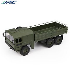Remote control military vehicle suspension off-road vehicle children's toys grey 1:10