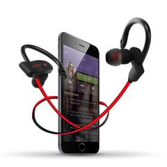 S2 Sports Bluetooth Earphone Wireless Ear-Loop Stereo Double Ear