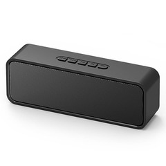 New Dual Universal Computer Bluetooth Speaker Card U Disk Listening Function black