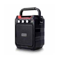 Wireless Bluetooth Speaker Square Dance Soundbox Portable Subwoofer Sound Spearker black