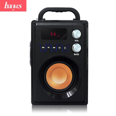 Wireless Bluetooth Speaker Stereo 3d Surround Phone Home Outdoor Subwoofer Small Speaker black