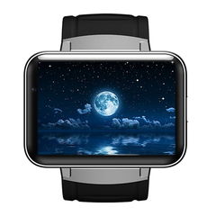 Android Smart Watch 2.2 Inch 3G Card Wifi Application Download GPS Positioning Navigation Black 2.2 inch