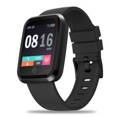 IP67 Waterproof HD Color Display Zebraze Crystal 2 Smart Watch blue xl