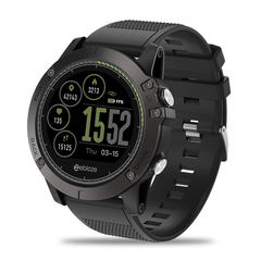 Zeblaze Vibe3 HR Android IOS Heart Rate Monitoring 5ATM Waterproof Smart Bracelet Watch black xl