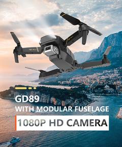 1080P HD Camera Long Flying Time Portable Design Aircraft black DG89-1080P
