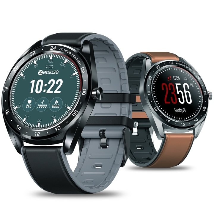 Smart watch touch screen heart rate and blood pressure monitoring ultra-thin smart watch black NEO-P
