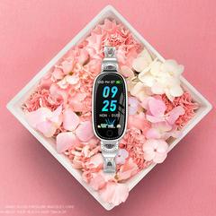 Goddess exclusive fashion trend waterproof simple temperament waterproof watch students silver 270 * 22.5 *12.0mm