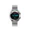 Fashionable waterproof sport smart watch Bluetooth Wrist Watch Heart Rate Blood Pressure Monitor moonlight silver 46 * 44 * 13mm